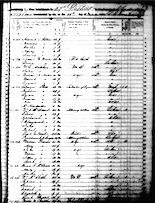 James W. Wood - 1850 Census