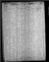 James W Wood Family - 1860 Census