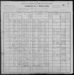 1900 Census - Joseph Ruth & Family