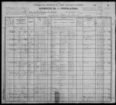 1900 Census - Long Family