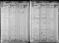 1860 Census - Truby, Michael & Family