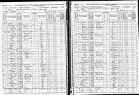 1870 Census - Truby, Michael & Family