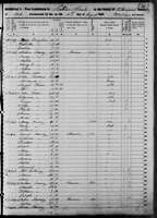 1850 Census - Multiple Nanney Families