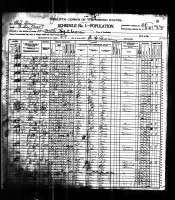 1900 Census - Nanney, Phillip & Family