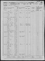 1860 Census - Nanney, Riley & Family