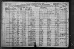 Roy Layton Spencer & Family - 1920 Census