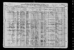 William S. Spencer Family - 1910 Census