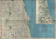 1938 Map of Chicago