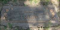 Headstone - Truby, John Michael & Nina Pearl (Johnson)