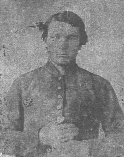 Richard Haywood Nanney in military uniform